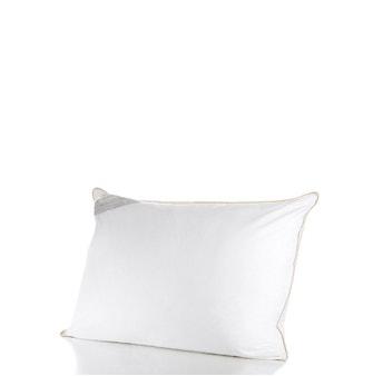 Travesseiro 50x90cm Buddemeyer Toque de Pluma Algodão Branco