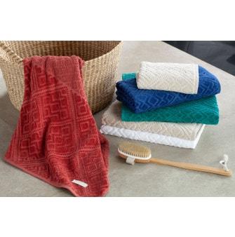Jogo de toalhas Buddemeyer Bristol Banho Azul 5 peças