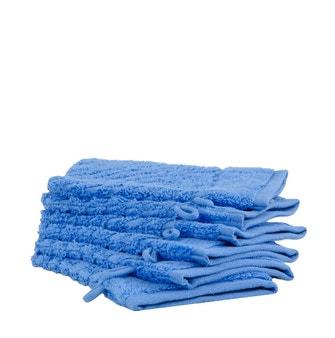 Kit 6 peças Luva Atoalhada Buddemeyer Luxus Plume Air Azul