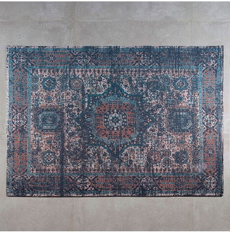 Tapete para casa Buddemeyer Luxus Odara Azul 160x230cm