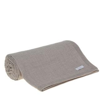 Cobertor 229x229cm Buddemeyer Luxus Alpaca Soft Kaki