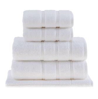 Jogo de Toalhas Buddemeyer Luxus Baby Skin Air Banho Branco 5 peças