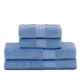 Jogo de Toalhas Buddemeyer Frape Banho Azul 4 peças