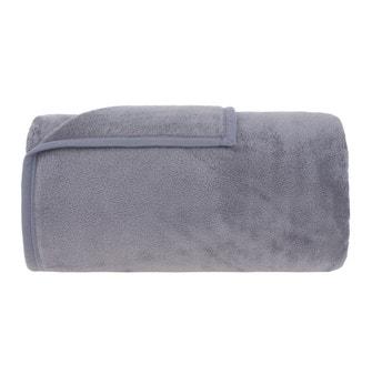 Cobertor Solteiro Buddemeyer Aspen 100% Poliéster Cinza