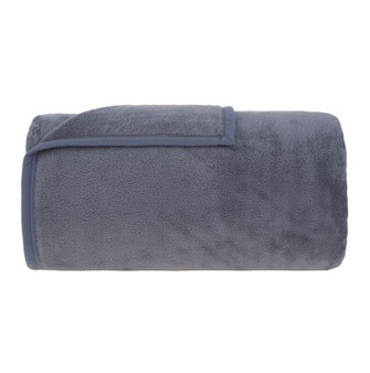 Cobertor Queen Buddemeyer Aspen 100% Poliéster Azul