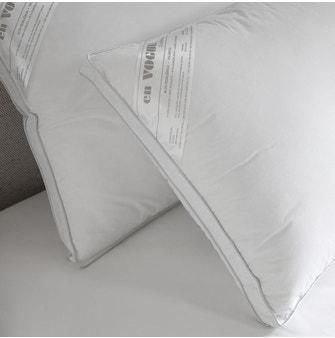 Travesseiro 50x90cm Buddemeyer en VOGUE Algodão Branco