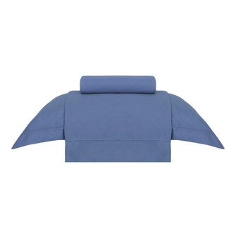 Jogo de Cama Solteiro Buddemeyer Essencial Azul Oásis 3 peças