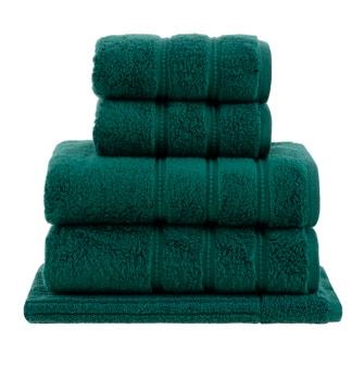 Jogo de Toalhas Buddemeyer Luxus Baby Skin Air Banho Verde 5 peças