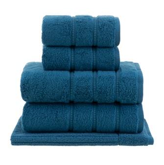 Jogo de Toalhas Buddemeyer Luxus Baby Skin Air Gigante Azul 5 peças
