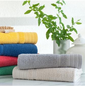Jogo de toalhas Buddemeyer Olímpia Banho Vermelho 4 peças