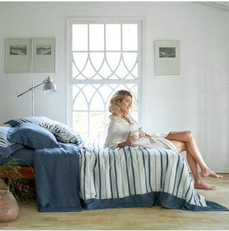 Kit Colcha Queen Buddemeyer Luxus Normandia Azul 3 peças